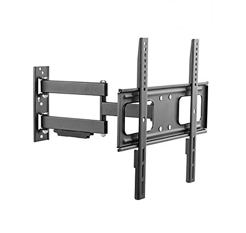 "Mount Plus MP-LPA36-443W Outdoor Anti-Theft Full Motion Swivel Weatherproof Tilt TV Wall Mount for Most 32""~60"" TVs Perfect Solution for Outdoor TV (Max VESA 400x400)"