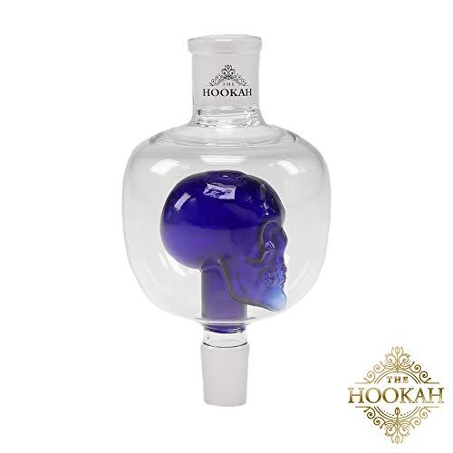 Molassefänger Butt-Head von THE HOOKAH | Aus Glas für 18/8 Schliff und eine saubere Shisha/Wasserpfeife, Blau