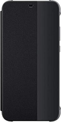 Huawei P20 Lite - Funda flip, negra