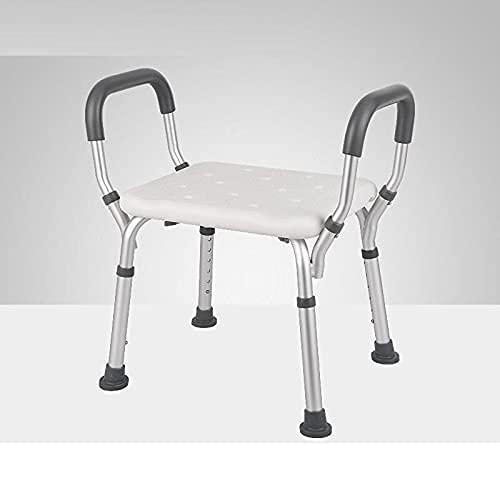 YNLRY Idoso Mobili Per La Casa Sgabello Tabouret Wc Bathroom Mueble Tocador Toilet Step Bath Escalon Plegable Foot Stool Shower Chair (Color : Version H)
