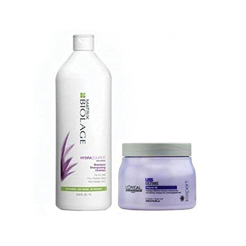 Matrice Biolage Hydrasource Shampooing Et Revitalisant (1000Ml)