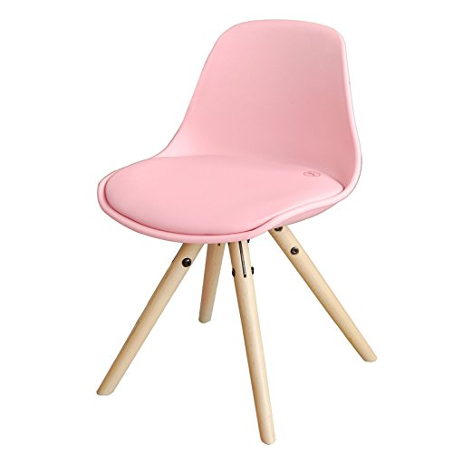 SoBuy FST46-P Kinderstoel Comfortabele Krukje Kinderfauteuil met Hoogwaardige Gestoffeerde Zitting Kruk Zithoogte 35cm - Roze