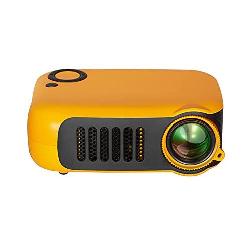 Docooler Proyector Mini Portátil Pantalla LCD Interfaz HD/USB/TF Proyección hasta 60 Pulgadas Proyector de Películas al Aire Libre para Cine en Casa