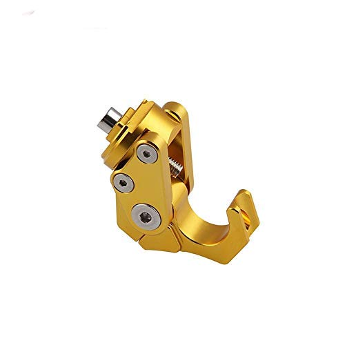 Holders de la Bolsa de la Percha de la Motocicleta Universal Handlebar Manillar del Manillar del Manillar del Casco de la Garra (Color: Oro), Color: Oro Banhai (Color : Gold)