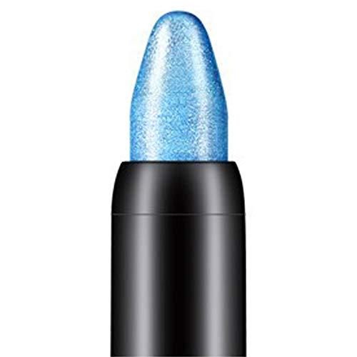 Fards à paupières,10 couleurs Crayon à paupières de beauté de surligneur-Lonshell (Bleu ciel)