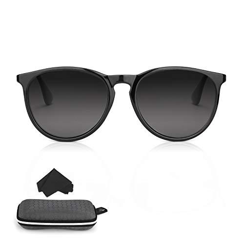 hicoosee Gafas de sol para hombre y mujer, estilo retro, polarizadas, para conducir, golf, ciclismo, pesca, senderismo