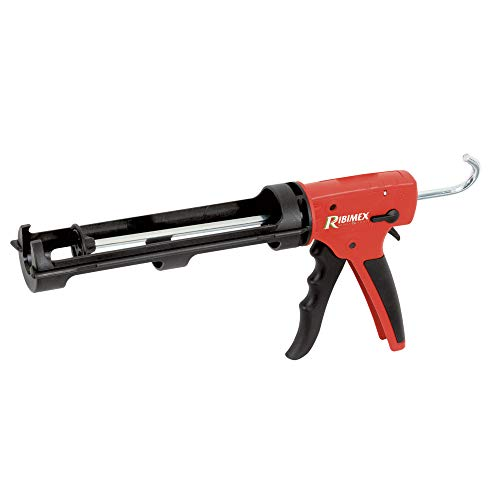 Ribimex PRPSMCPRO - Pistola selladora Profesional, Color Rojo y Negro