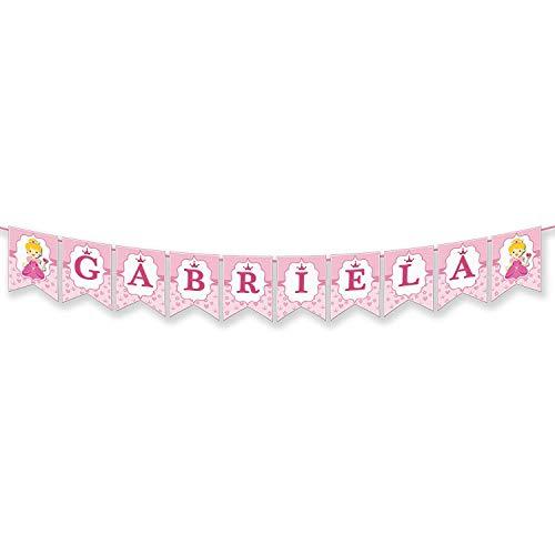 Guirnalda Personalizada Con Nombre - Gabriela, Abril, Laia, Alba