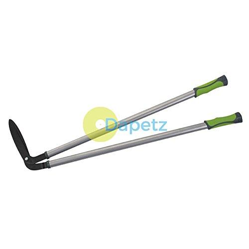 Dapetz® Bordure Cisailles Anti-adhésif Lame Revêtement Ovale Acier Tube Anti-dérapant 930mm