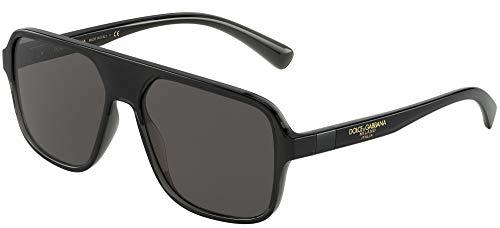 Sonnenbrillen Dolce & Gabbana STEP INJECTION DG 6134 BLACK/GREY 57/16/145 Herren