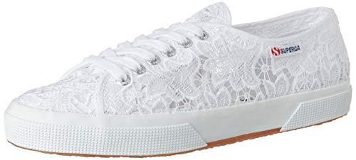 Superga 2750-macramew, Zapatillas de Gimnasia Mujer, Blanco (White 900), 40 EU