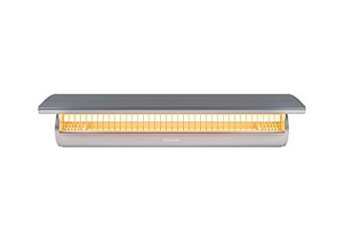 DIMPLEX DSH20W Calentador eléctrico infrarrojo para interiores y exteriores, 240 V 2000 W, acero inoxidable