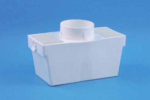 daniplus© Kondensbox inkl. Abluftschlauch und Klemme für Ablufttrockner, Trockner