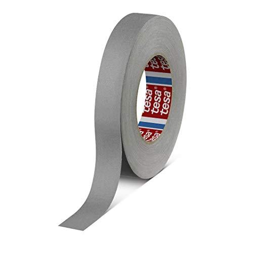 tesa band 4541   flexibles, hochreißfestes, unbeschichtetes Gewebeband   145 mesh, Länge: 50 m, versch. Farben und Breiten (19 mm, grau)