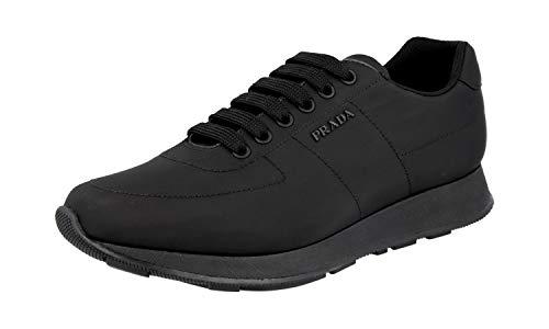 Prada Herren Schwarz Nylon Sneaker 4E3355 43 EU/UK 9