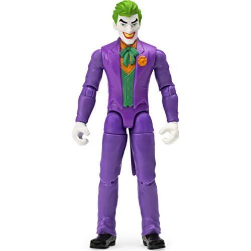 BATMAN Joker, Personaggio da 10 cm, con 3 Accessori Misteriosi, dai 3 Anni, 6056747