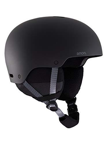 Anon Unisex Jugend Rime 3 Snowboard Helm, Black, L\XL, 52-55 cm