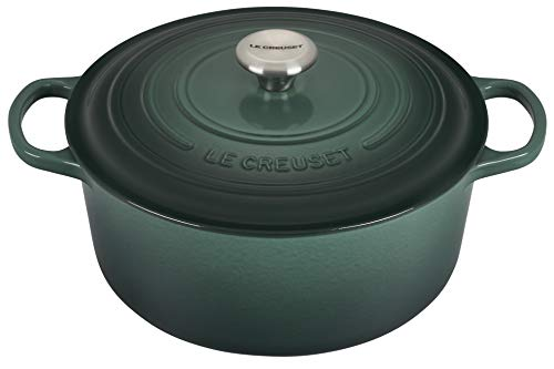 Le Creuset Signature Enameled Cast-Iron Round Dutch Oven, 7-1/4-Quart, Artichaut
