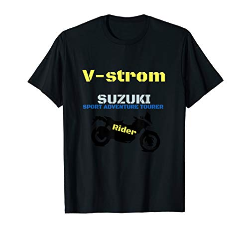 Sport Adventure tourer V-strom Motorrad T-Shirt