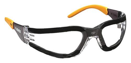 Elvex Clear anteojos de seguridad, antiniebla, envolvente.