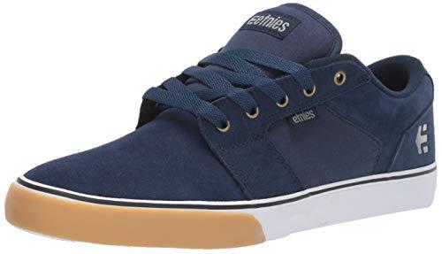 Etnies Barge LS, Zapatillas de Skateboard para Hombre, Azul (Navy/Tan/White 467), 44 EU