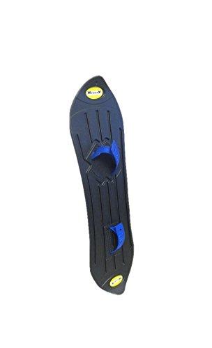 Kroxxy Sledge Snowboard Schnee Board Snowskate Funboard in schwarz