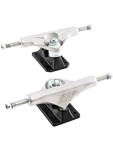ENUFF Decade PRO Satin 129 Trucks 1 Pair Raw/Black - 7.6'