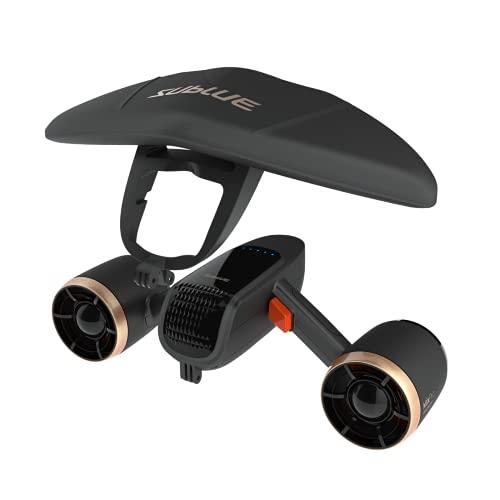 WINDEK SUBLUE WhiteShark Mix Pro Underwater Scooter with Action Camera Mount Dual Motor 40M...