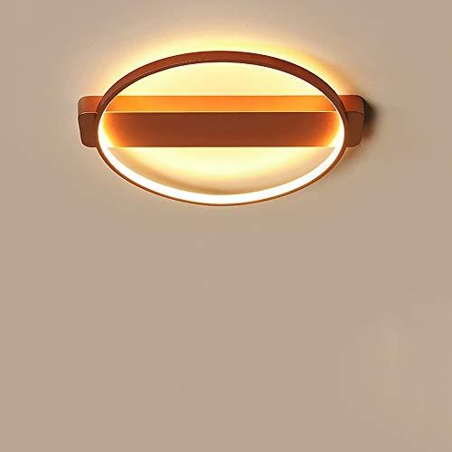 HviLit Anneau créatif LED Plafonnier Montage Or Rose Rond Moderne Plafonnier Luminaire Chambre Lampes en Aluminium Métal Éclairage Intérieur Cuisine Salon Balcon Corridor LED Iight