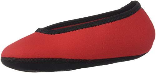 Nufoot, Damen Hausschuhe rot Large / 34 M EU / 4 B(M) US