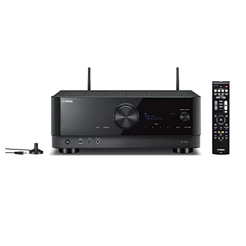 Yamaha AV Receiver RX-V6A - Network Receiver with Dolby Atmos Height...