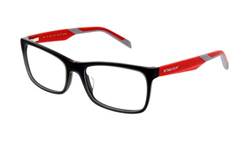 New Tag Heuer B Urban Eyeglasses - 0554 004 - Grey/Red (56-18-145)