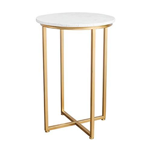 Tavolini da caffè Mesa redonda de metal - mesa auxiliar simple -...