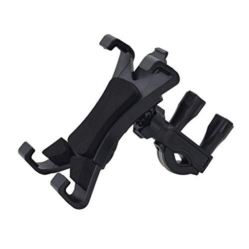 DealMux Universal 360 soporte para bicicleta soporte para bicicleta estática para tableta de 7-12 pulgadas