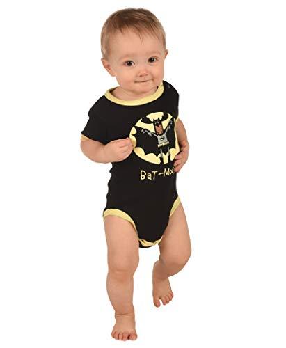 LazyOne Garçon Bat Moose Body Bebe Vest 18 Months