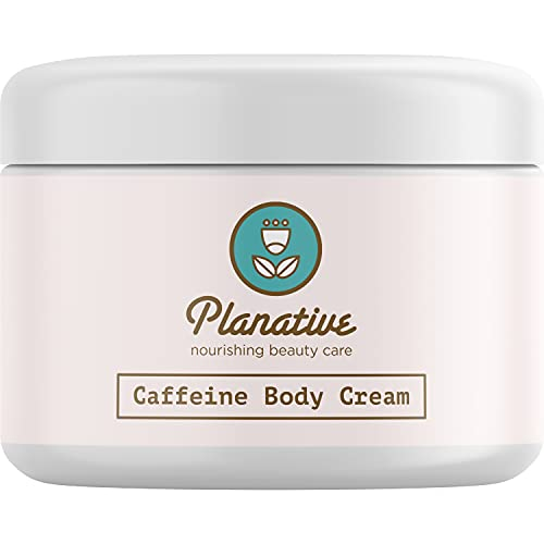Anti-Cellulite Treatment Body Cream Natural Skin Care for Men and Women Anti-Aging Moisturizer Smooth Skin Tightening Cream Improves Circulation and Elasticity Pure Shea Butter Rosehip and Caffeine