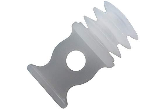 rewagi – Endfeststeller, rund für Löcher 8mm, 10mm, 11mm, 12,5mm, 14,5mm, 16mm Ø – 4, 8, 12 Stück (Ø 10-11 mm - 12 Stück)