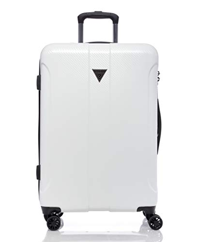 """Guess Lustre 2 Collection 24"""" 8-Wheeled Spinner, White, One Size,C6893984"""