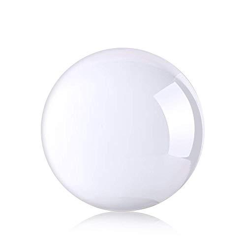 Simuer 70mm Sfera di cristallo, sfera in vetro cristallo guarigione giocoleria Art Decor cristallo K9puntello per fotografia decorazione regalo di compleanno insegnamento trasparente