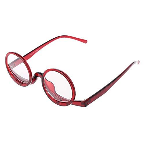 Hothap Lupa giratoria de maquillaje, gafas de lectura para mujeres, plegables, presbyopie...