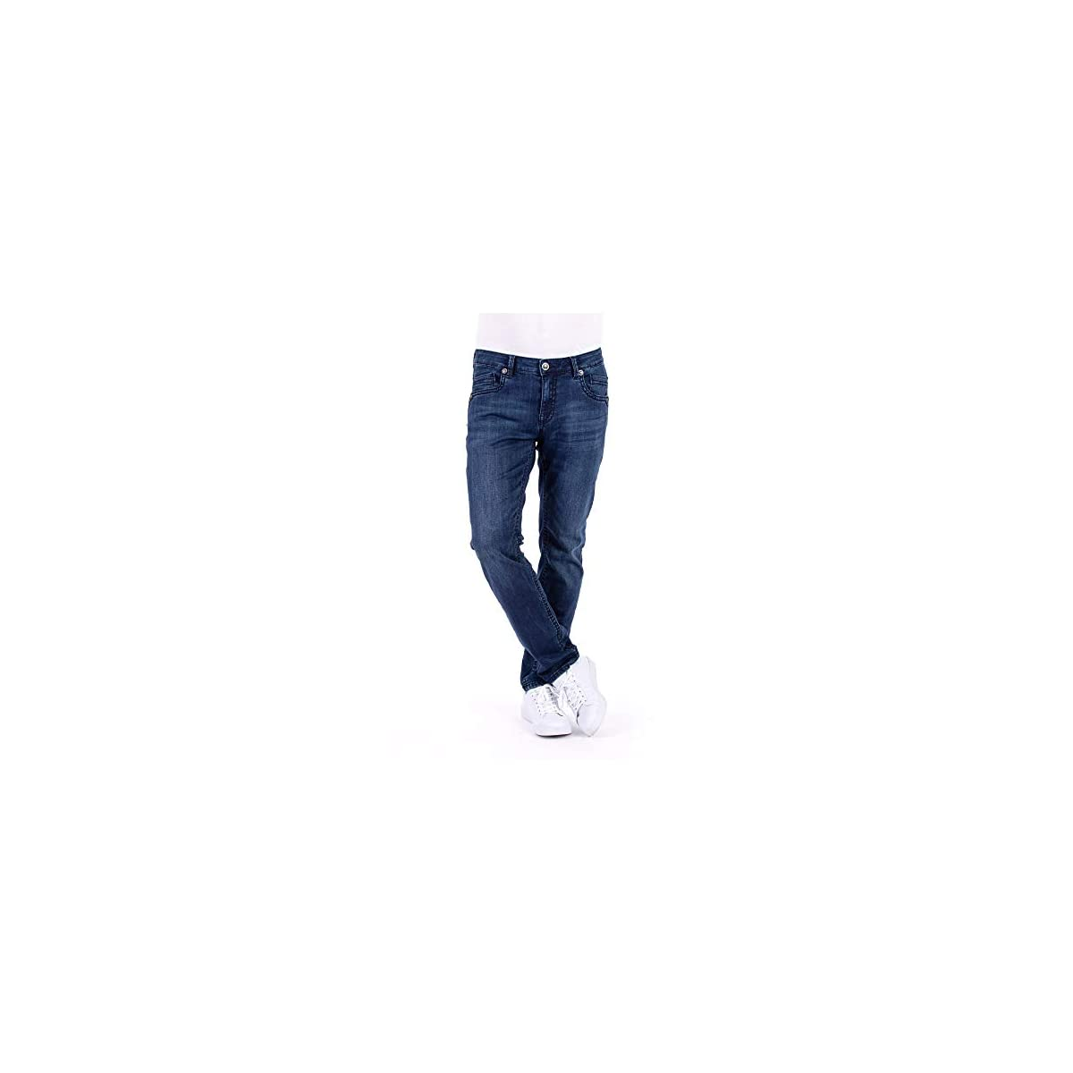 Blue Monkey Jeans Herren Freddy Contrast Stitching