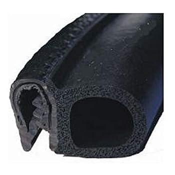 Joint en caoutchouc Style S Pour fen/être en verre noir