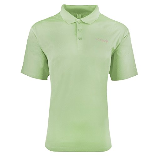 Columbia FM6129 T-shirt pour homme PFG Zero Rules TM Polo (Green Lite, S)