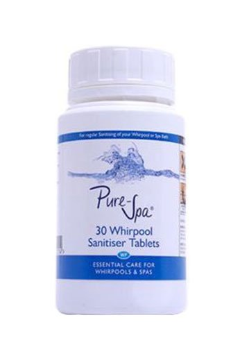 Pure-Spa Whirlpool Bath Sanitising Tablets