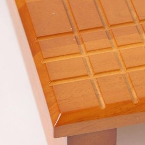 玄関踏み台/ステップ台【大】 木製 段差(高さ)調節機能付き 幅90cm