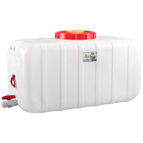 MORN Garrafa Agua con Grifo, Bidon Garrafa Plastico Alimentario, No Tóxico, Utilizado para Almacenar Agua Potable para Cortes de Energía o Recorridos Sin Conductor