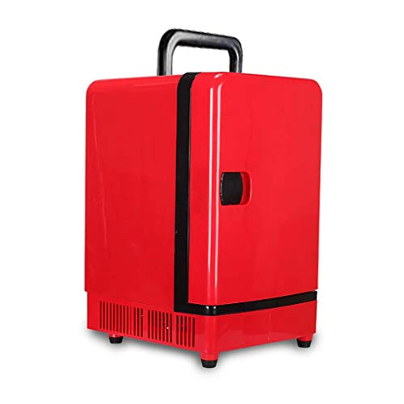 16L Car Refrigerator Compact Cooler/Warmer Mini Fridge, for Sports & Outdoors & Homes, Red