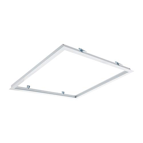 LEDKIA LIGHTING Marco Empotrable para Paneles LED 60x60cm Blanco