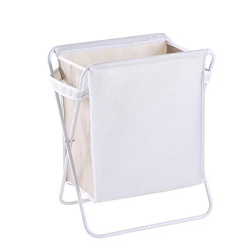KKY-ENTER Panier à linge pliable Grand tissu Oxford Sac à linge sale Sac à vêtements imperméable Gris Coffre à Linge (Couleur : B)
