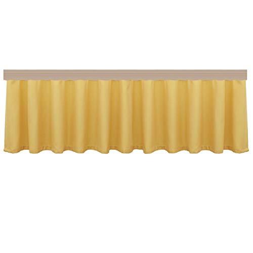 artex deko Landhaus-Querbehang Fanni gelb MTI Reihband Kollektion Fanni 40 x 300 cm für den gemütlich-rustikalen Landhaus-Stil